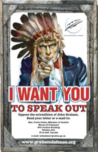 """I Want You"" Letter Campaign Poster"